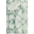 Jawhar Green/Ivory Area Rug Rug Size: Rectangle 4' x 6'