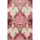 Osvaldo Hot Pink Ikat Area Rug Rug Size: Rectangle 5' x 8'