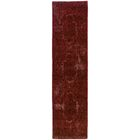 Raiden Garnet Red Area Rug Rug Size: Rectangle 6'7