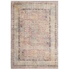 Soren Rose/Light Gray Area Rug Rug Size: Rectangle 6' x 9'