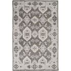 Drachten Charcoal/Light Gray Area Rug Rug Size: Rectangle 5'6