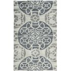 Kouerga Hand-Tufted Silver/Gray Area Rug Rug Size: Rectangle 10' x 14'