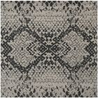 Kouerga Hand-Tufted Gray/Black Area Rug Rug Size: Square 7'