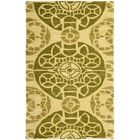Kouerga Hand-Tufted Yellow Area Rug Rug Size: Rectangle 4' x 6'