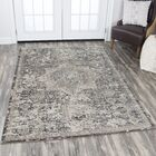 Kris Gray Area Rug Rug Size: Rectangle 6'7