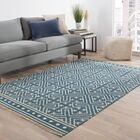 Guillermo Blue Geometric Area Rug Rug Size: Rectangle 5' x 8'