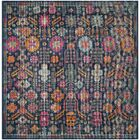 Bunn Blue/Pink Area Rug Rug Size: Square 6'7