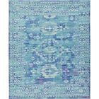 Rune Light Blue Area Rug Rug Size: Rectangle 8' x 10'