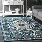 Kujawa Blue Area Rug Rug Size: Rectangle 9' x 12'