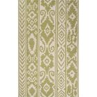 Terrence Hand-Woven Wool Green/Ivory Area Rug Rug Size: Rectangle 5' x 8'