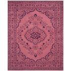 Samaniego Hand-Tufted Pink Area Rug Rug Size: Rectangle 8' x 10'