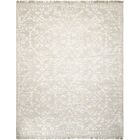 Haddou Hand-Knotted Light Gray Area Rug Rug Size: Rectangle 7'9