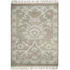 Haddou Hand-Knotted Gray Area Rug Rug Size: Rectangle 2'3