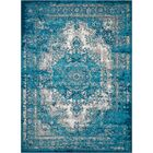 Star Blue/Gray Area Rug Rug Size: Rectangle 5'3