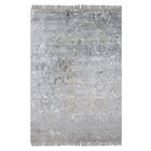 Cobbett Hand-Woven Gray Area Rug Rug Size: 8' x 10'