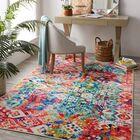 Amblewood Red/Blue Area Rug Rug Size: Rectangle 5' x 9'