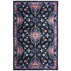 Amblewood Black/Purple/Pink Area Rug Rug Size: Rectangle 5' x 8'