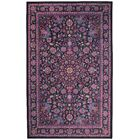 Barkhampstead Purple/Charcoal Area Rug Rug Size: Rectangle 8' x 10'