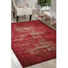 Duncanville Red Area Rug Rug Size: Rectangle 7'10
