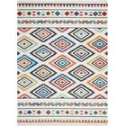 Carice Red Area Rug Rug Size: Rectangle 7'10