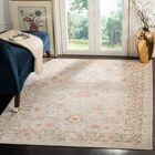 Chauncey Oriental Light Gray Area Rug Rug Size: Round 6'