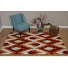 Pisano Cherrystone Red Area Rug Rug Size: Rectangle 5'3