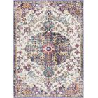 Hillsby Gold/Purple Area Rug Rug Size: Rectangle 3'11