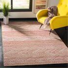 Griffeth Pink/Beige Indoor/Outdoor Area Rug Rug Size: Rectangle 9' x 12'