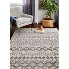 Arlingham Ivory/Gray Area Rug Size: Rectangle 5' x 7'6