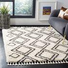 Morgan Black/Beige Area Rug Rug Size: Rectangle 5'1
