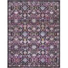 Walferdange Violet Area Rug Rug Size: Rectangle 7'10