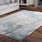 Dovewood Light Blue Area Rug Rug Size: Rectangle 6'7