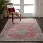 Oglethorpe Power Loom Red/Brown Area Rug Rug Size: Rectangle 5'3