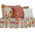 Swinney Pillowcases and Bed Skirt Size: Twin