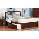 Tirado King Storage Platform Bed Bed Color: Antique Walnut