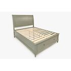 Glenburn Storage Platform Bed Color: Grey, Size: Full