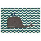 Heimbach Oh Whale Teal/Navy/Grey/Cream Indoor Area Rug