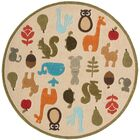 Johnnie Hand-Tufted Ivory Kids Rug Rug Size: Rectangle 4' x 6'