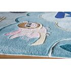 Johnnie Hand-Tufted Blue Area Rug Rug Size: Rectangle 3' x 5'