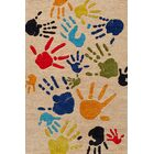 Johnnie Hand-Tufted Beige Kids Rug Rug Size: Rectangle 5' x 7'