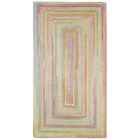 Melanie Beige/Pink Area Rug Rug Size: Concentric 11'4
