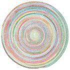 Melanie Braided Cotton Area Rug Rug Size: Chairpad 1'3