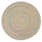 Oliver Braided Reversible Area Rug Rug Size: Oval 12' x 15'