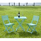 3 Piece Bistro Set Finish: Mint