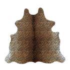 Biloxi Cheetah Cowhide Brown Area Rug