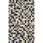 Patchwork Static Multi-colored Area Rug Rug Size: Square 4'