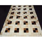 Patchwork Neutral Box Area Rug Rug Size: Rectangle 5' x 8'