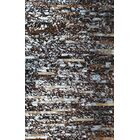 Patchwork Natural Stripe Brown Area Rug Rug Size: Rectangle 4' x 6'