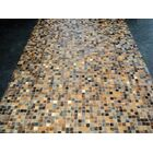 Patchwork Granite Brown Area Rug Rug Size: Rectangle 5' x 8'