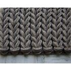 Braided Gray Area Rug Rug Size: Rectangle 5' x 7'